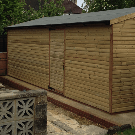 Sheds Built On Site Aldershot